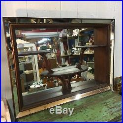1960s Mid Century Modern Atomic MCM Shadow Box Mirror
