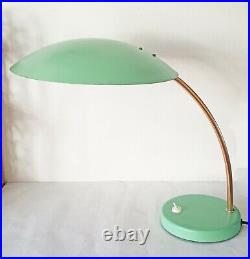 1970s SpaceAge Desk Lamp USSR Soviet Era Atomic Mid Century Vintage Light