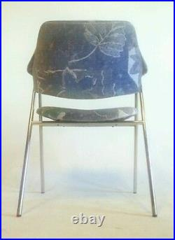 5 Mid Century BOHO Thonet Dining Canteliver Vintage Atomic Danish Modern Chairs
