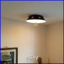 752b 50s 60s Vintage Ceiling Light Lamp Fixture atomic mid-century eames sputnik