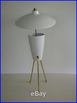 ADJUSTABLE Large TABLE LAMP Mid-Century ARTELUCE Eames STILNOVO Deco 50s Atomic