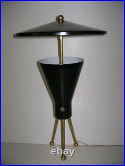 ADJUSTABLE TABLE LAMP Mid-Century ARTELUCE Eames STILNOVO Deco 50s Atomic
