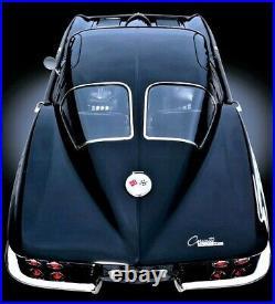 Art Deco Vintage Mid Century Atomic Modern Jet Space Age Chevrolet Corvette Car