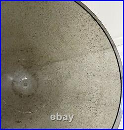 Bullet Planter Glitter Plastic Atomic Plant Stand Metal 24 Vtg Mid Century FLAW