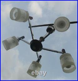 Danish Modern Vintage Atomic Mid Century Lamp Era Eames Rare Scandinavian