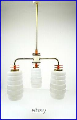 Jetsons Atomic Design Original 50s MID Century Chandelier Hanging Ceiling Lamp