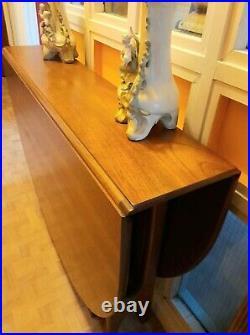 Large Vintage G Plan Drop Leaf Dinning Table Retro Mid Century Teak 60's Atomic