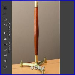 MID Century Modern'rocket' Tripod Laurel Lamp! Vtg Stiffel Atomic Thurston 50's