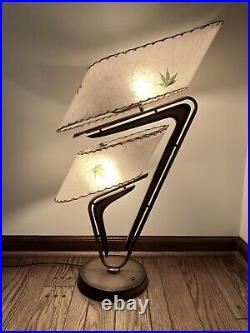Majestic Boomerang Z Lamp 50s Retro Mid Century Atomic Modern Rare Luxcraft