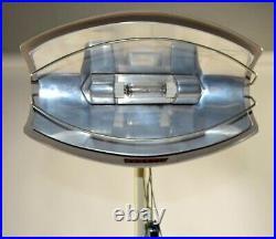 Mid Century Modern Atomic Age floor lamp architectural Hanovia sun lamp Bauhaus