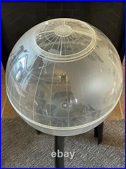 Mid Century Modern Space Age Atomic 33 World Globe Terrarium Aquarium Planter