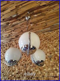 Mid Century Modern space age sputnik atomic chandelier