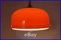 Mid Century Pendant Lamp / Atomic Meblo Pendant Lamp /Meblo For Guzzini / 1970s