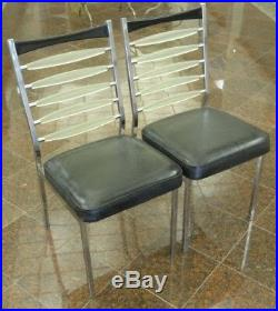 PAIR 50's DAYSTROM DINETTE CHAIR MID CENTURY MODERN SPACE ATOMIC