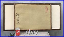 Rare ATOMIC AGE Mid Century Modern Wall Shadow Box Mirror Shelf Turner Classic