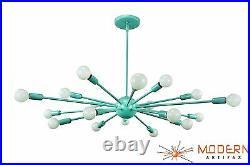 Sputnik Atomic Lamp Light Chandelier Pendant Starburst Mid Century Modern Eames