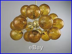 Sputnik Atomic Mid Century Modern Chandelier Starburst Vintage 50 60s Eames lamp