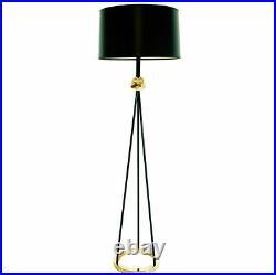 Vintage 1940's Walter Von Nessen Mid Century Modern Atomic Tripod Floor Lamp
