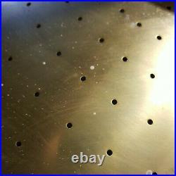 Vintage Atomic Saucer Disc Light Fixture 21 Mid Century Modern Ceiling MCM