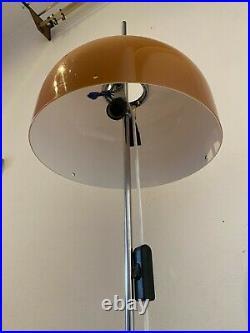 Vintage Meblo Guzzini Mid Century Space Age Lamp Floor Atomic Design Light