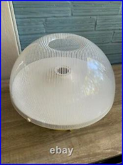 Vintage Meblo Guzzini Space Age Table Lamp Mid Century Design Mushroom Atomic