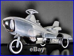 Vintage Mid Century Atomic Modern 1950s 1960s Jet Age Space Craft Rocket Ship
