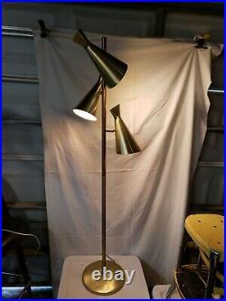 Vintage Mid Century Modern Atomic Floor Lamp