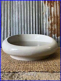 Vintage Mid Century Opal Mobel Astarte Space Age Atomic Low White Coffee Table