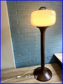 Vintage Mid Century Space Age Lamp Floor Atomic Design Light Pop Art UFO Metal