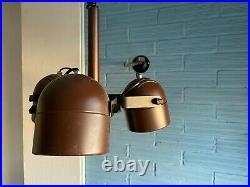 Vintage Pendant Space Age Lamp Atomic Design Light Mid Century Hanging Ceiling