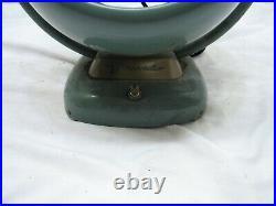 Vintage Vornado 6 Art Deco Mid Century Modern Desk Fan D16C2-1 53 Atomic