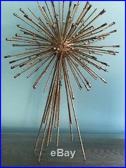 Vtg Mid Century Modern Christmas Tree Topper Star Atomic ...