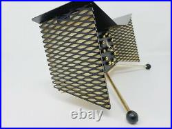 Vtg Rare Snider Butterfly #503 TV Lamp Clock Atomic Mid Century Modern MCM Space