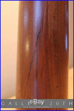 Wow! Hansen MID Century Danish Modern Table Lamp! Teak Atomic Vtg 40s 50s Wood
